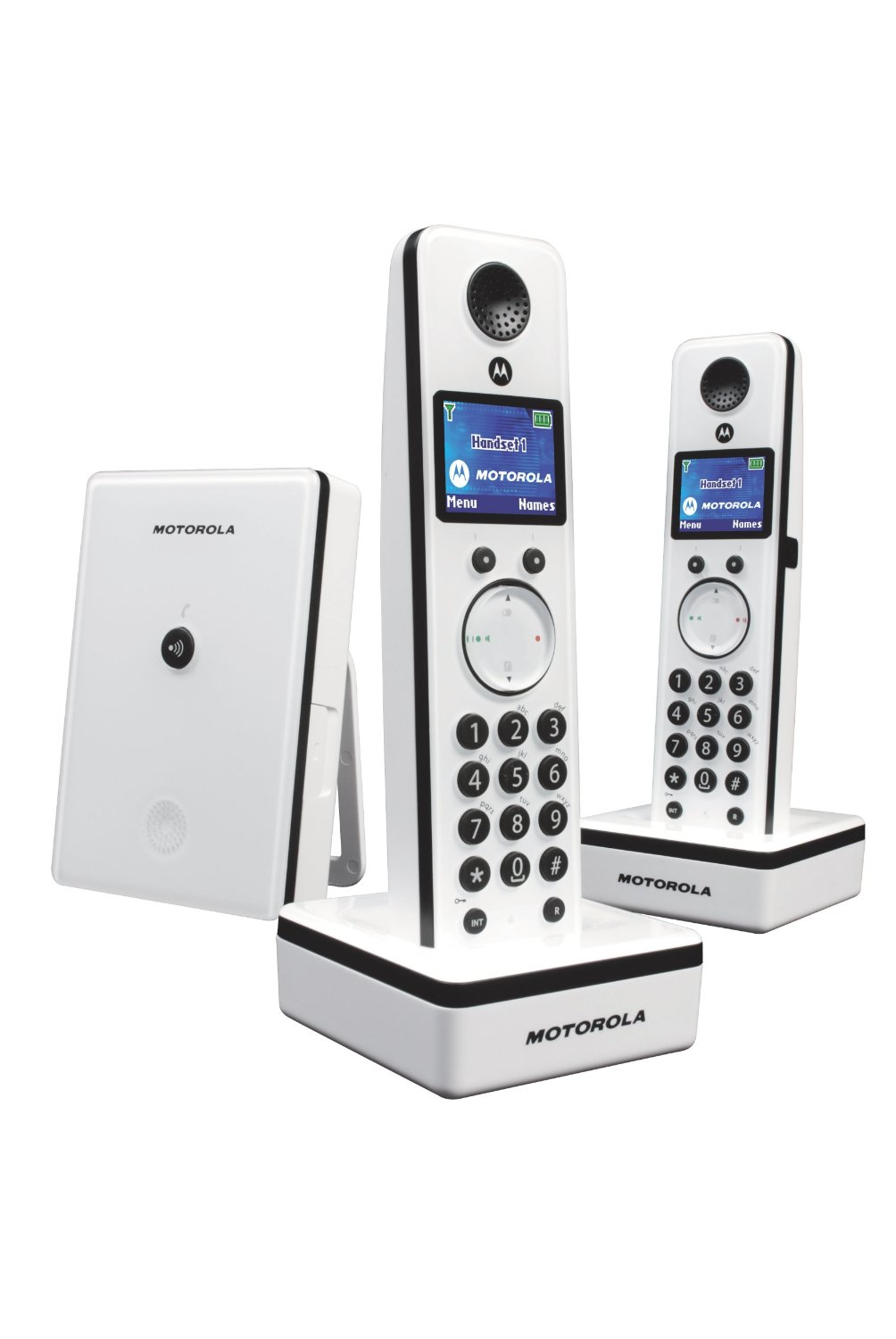 motorola d802 twin schnurlos telefon sim kartenleser f r telefonnummern ebay. Black Bedroom Furniture Sets. Home Design Ideas