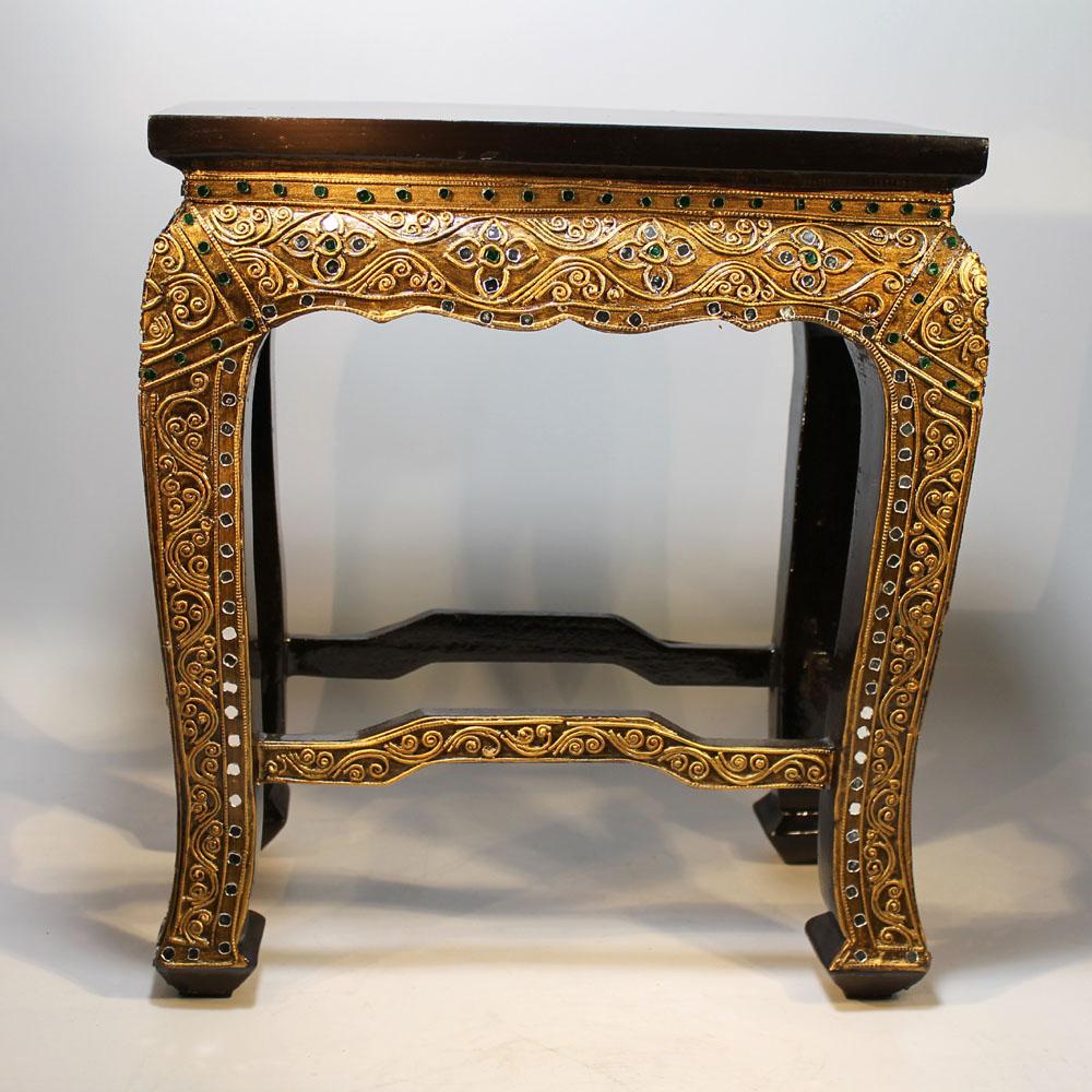 opiumtisch tisch asien orient beistelltisch holz massiv. Black Bedroom Furniture Sets. Home Design Ideas