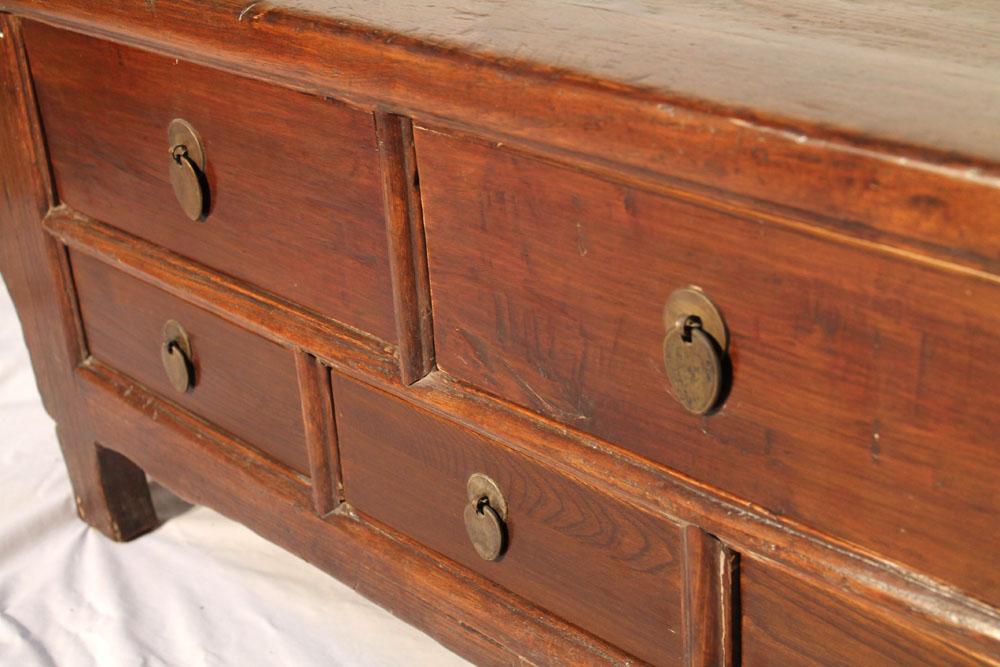 antike sideboard kommode massiv holz 19 jh original china. Black Bedroom Furniture Sets. Home Design Ideas
